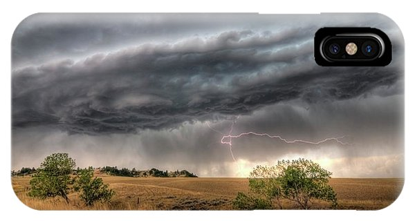Montana Storm IPhone Case