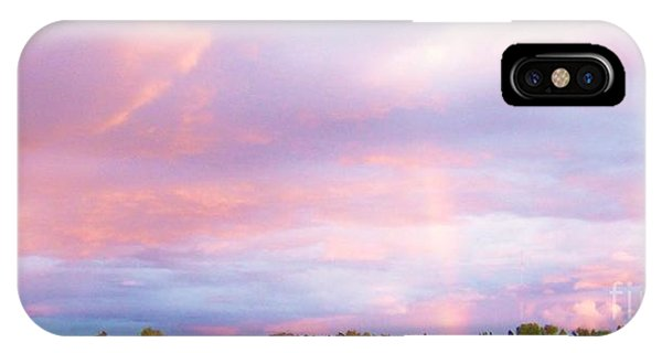 IPhone Case featuring the photograph Montana Sunset 1 by Deahn      Benware