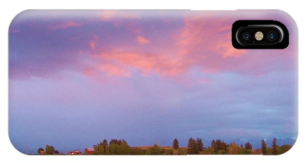 Montana Sunset 2 IPhone Case