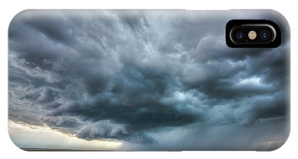 Montana Thunderstorm IPhone Case