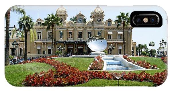 Monte Carlo Casino IPhone Case