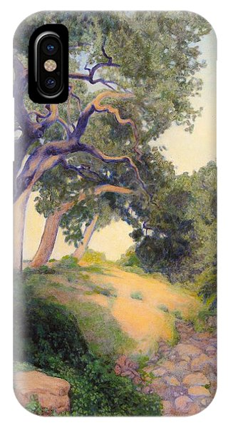 Montecito Dry River Oaks IPhone Case