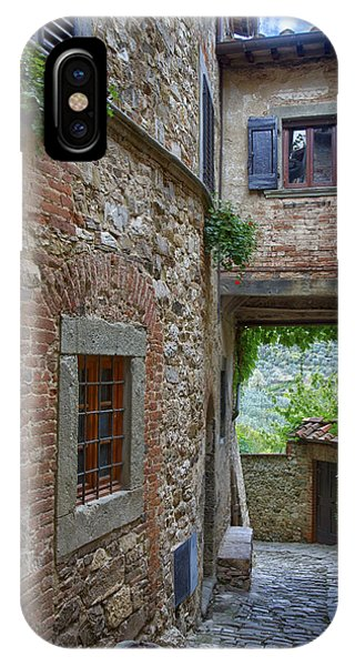 Montefioralle Tuscany 2 IPhone Case