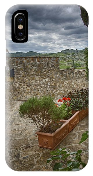 Montefioralle Tuscany 4 IPhone Case