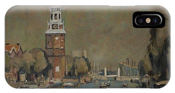 Montelbaanstoren Amsterdam IPhone Case