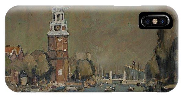 Briex iPhone Case - Montelbaanstoren Amsterdam by Nop Briex