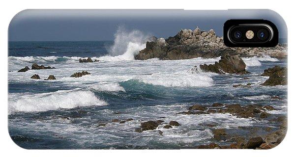 Monterey Coastline IPhone Case