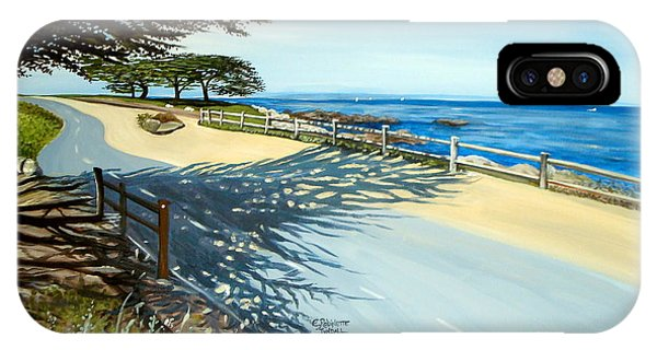 Monterey Shadows IPhone Case