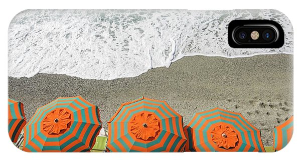 Monterosso Umbrellas IPhone Case