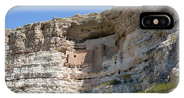 IPhone Case featuring the photograph Montezuma Castle National Monument Arizona by Steven Frame