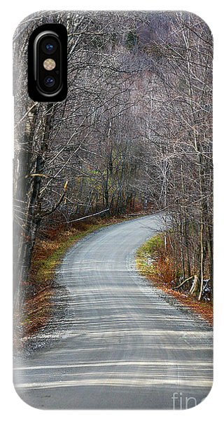 Montgomery Mountain Rd. IPhone Case