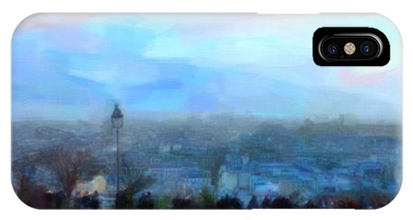 Montmartre From The Butte IPhone Case