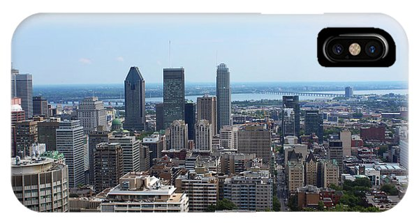 Montreal Cityscape IPhone Case
