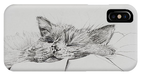 Monty  Sleepy Boy IPhone Case