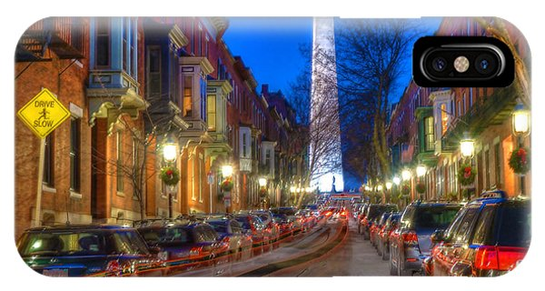 Monument Street Charlestown 023 IPhone Case