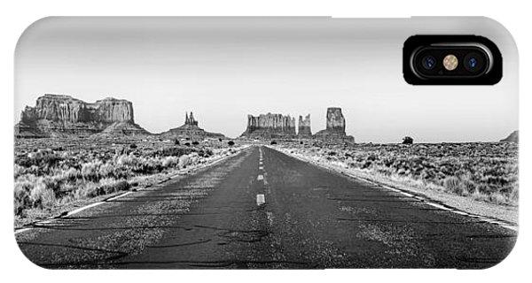 Monument iPhone Case - Freedom Bw by Az Jackson
