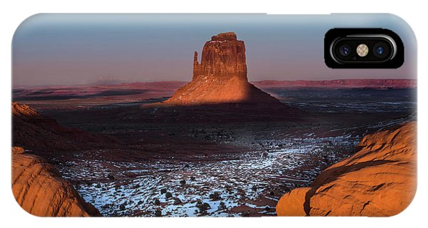 Monument iPhone Case - Monument Valley by Larry Marshall