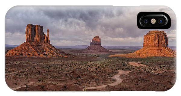 Monument Valley Mittens Az Dsc03662 IPhone Case