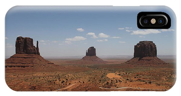 Monument Valley Navajo Park IPhone Case