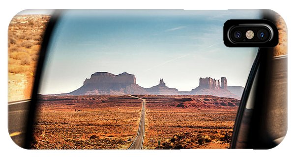 Monument Valley Rearview Mirror IPhone Case