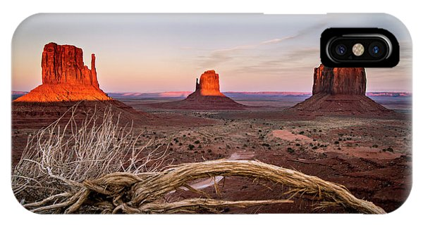 Monument Valley Sunset IPhone Case
