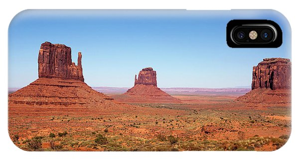 Monument Valley Utah The Mittens IPhone Case