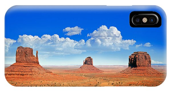 Desert iPhone X / XS Case - Monument Vally Buttes by Jane Rix