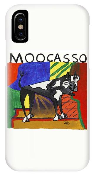 Moocasso IPhone Case