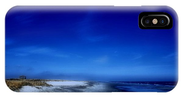 Mood Of A Beach Evening - Jersey Shore IPhone Case