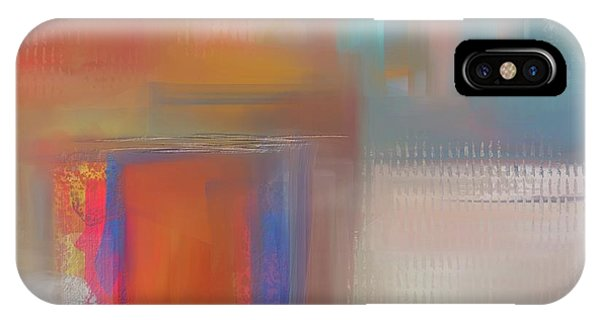 IPhone Case featuring the mixed media Moody Blues by Eduardo Tavares