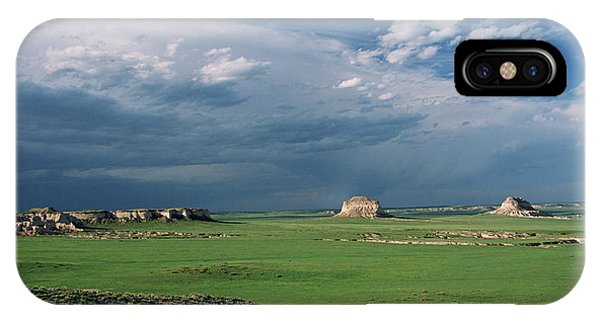 Moody-buttes IPhone Case