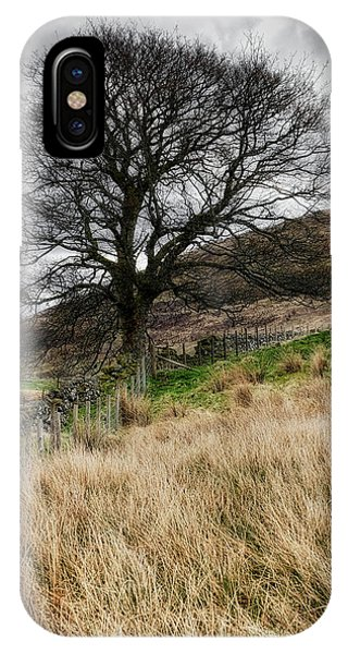 IPhone Case featuring the photograph Moody Scenery In Central Scotland by Jeremy Lavender Photography