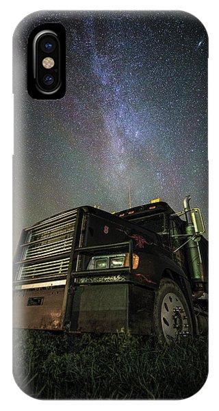 Trucking iPhone Case - Moody Trucking by Aaron J Groen