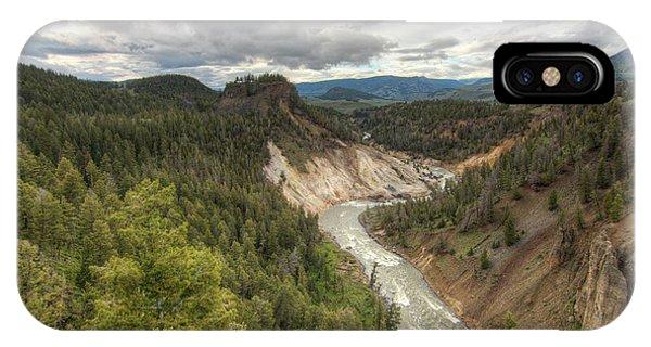 Moody Yellowstone IPhone Case