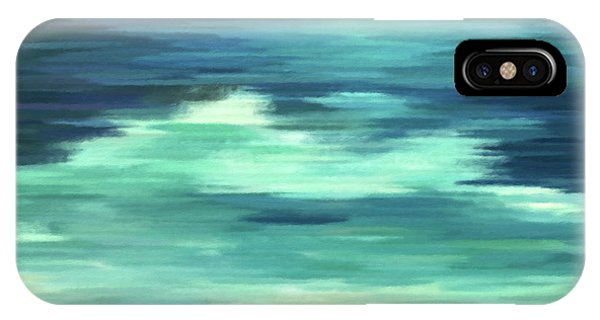 Moon And Sea Abstract Realism IPhone Case