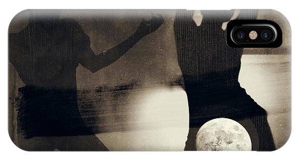 Moon And Then IPhone Case