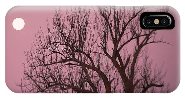 Moon And Tree IPhone Case