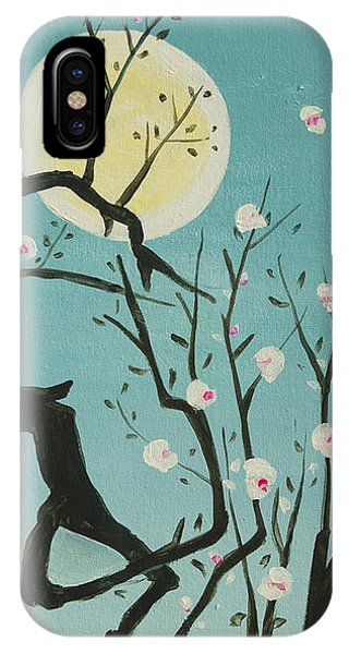 Moon Blossoms IPhone Case