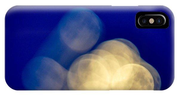 Moon Blur-1 IPhone Case