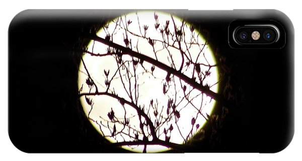 Moon Branches IPhone Case