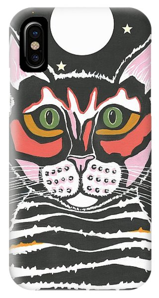Moon Cat - Funny Animal IPhone Case