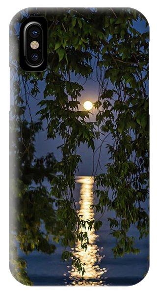 Moon Curtain IPhone Case