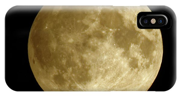 Moon During Eclipse IPhone Case