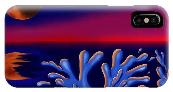 Moon-glow II IPhone Case