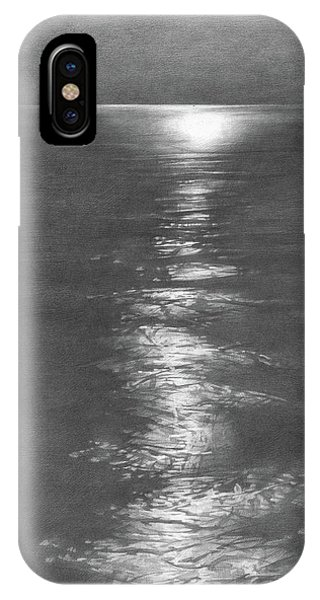 iPhone Case - Moon Light In The Sea by Denis Chernov