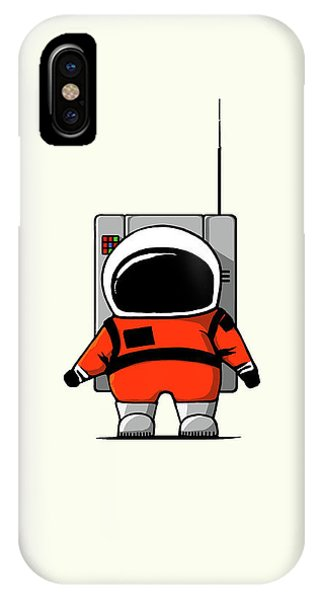 Astronaut iPhone Case - Moon Man by Nicholas Ely