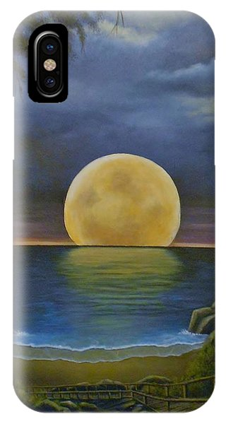 Moon Of My Dreams II IPhone Case