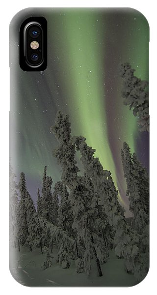 Moon On The Hill IPhone Case