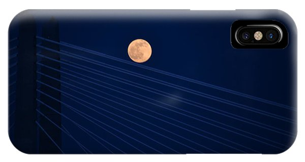 Moon Over Bridge IPhone Case