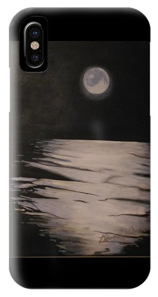 Moon Over The Wedge IPhone Case